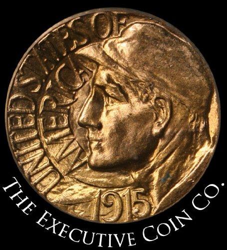 1915 S Pan-Pac Commemorative Gold Dollar PCGS MS66