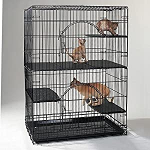 Proselect Ps Cat Cage Deluxe Platform 3pc