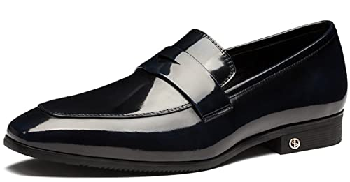 OPP Zapatos de Cordones de Piel Para Hombre, Color, Talla 45 EU