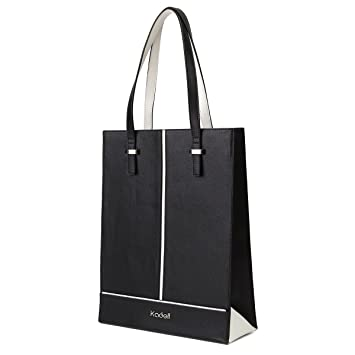 40151b9a4d97 Kadell Women Leather Top Handle Handbags Tote Shoulder Bags for Ladies  Business Briefcase Black  Amazon.co.uk  Luggage