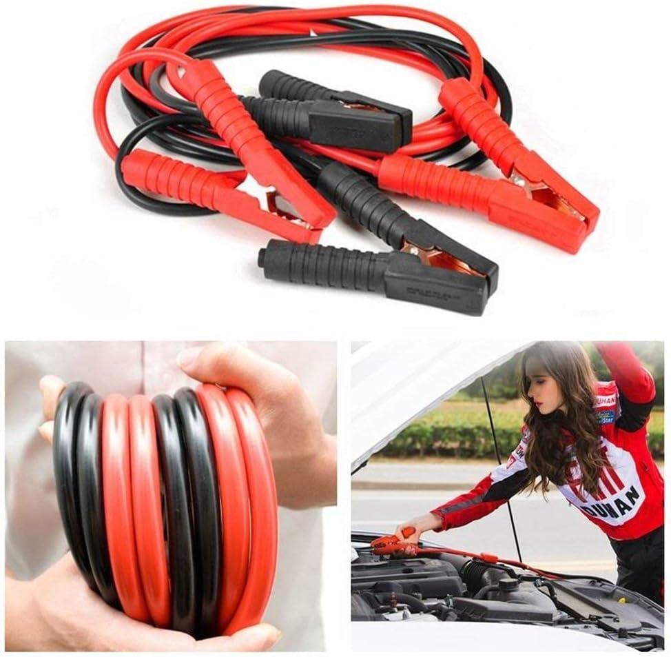 NAIZY Cable de Arranque de 12 V//24 V 2 x 4 m Moto Cable de Arranque Cable de Arranque cami/ón con protecci/ón contra sobretensiones para Coche