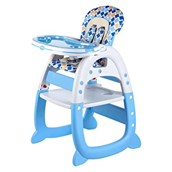 Remarkable Amazon Com Evezo Merly High Chair Desk Combo Light Baby Caraccident5 Cool Chair Designs And Ideas Caraccident5Info