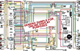 "1966 Pontiac Bonneville & Catalina 11"" X 17"" Color Wiring Diagram"