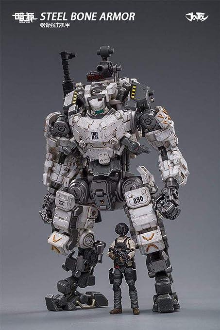 JOYTOY 1//25 God of War 86 Mecha Middle-sized Action Figure Robot Set of 2
