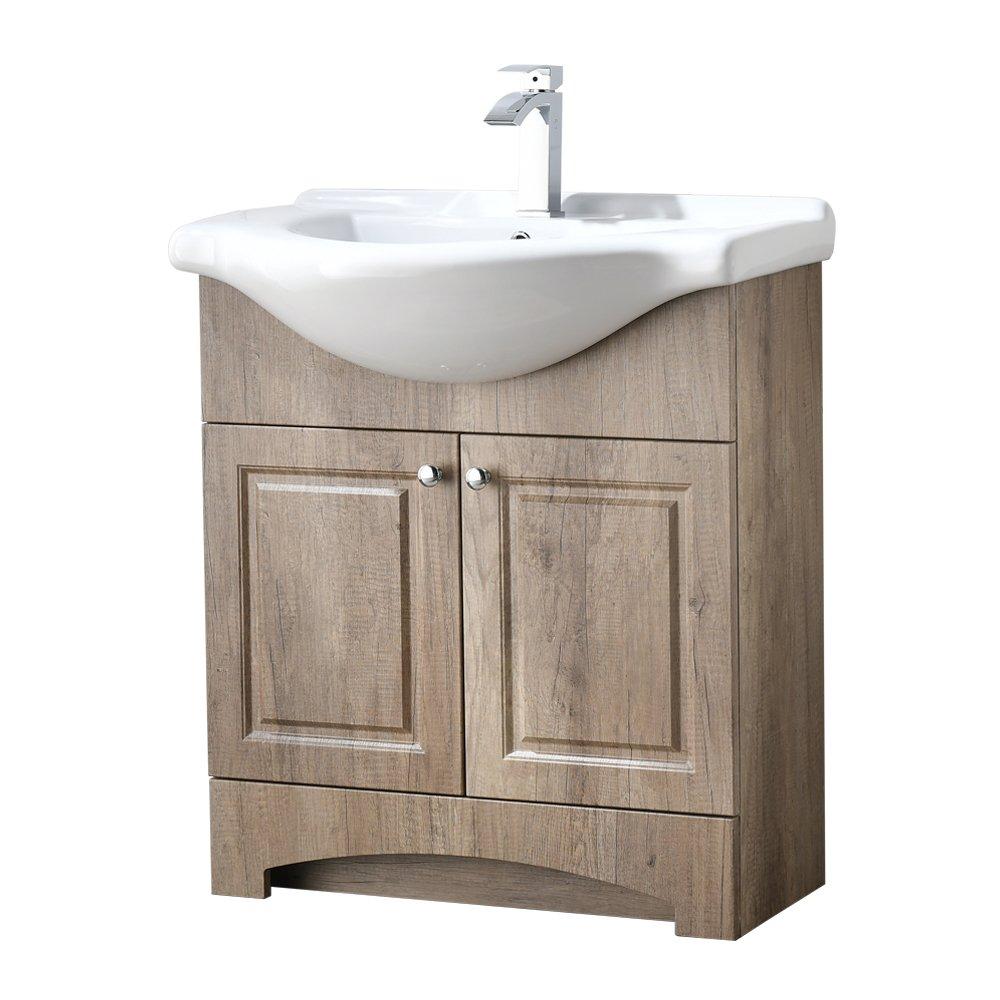 Weathered Oak RESSORTIR RES-19BC025 Bathroom Vanity