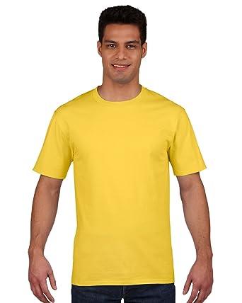 1632c8399810bd Gildan Premium Cotton Ring Spun T-Shirt - Daisy - size S: Amazon.co.uk:  Clothing