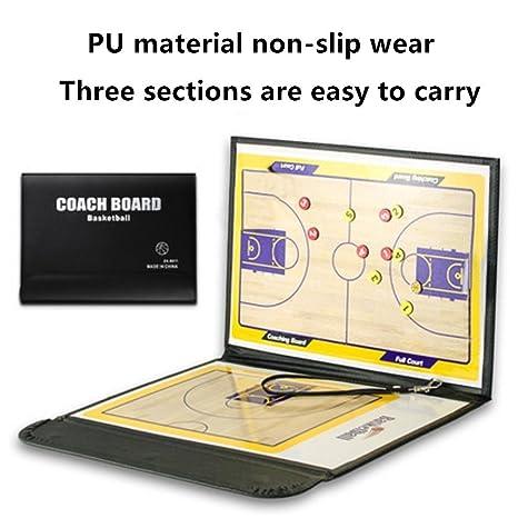 Tableau tactique dentraînement de basket A-Nam - Magnétique - Effaçable - Avec marqueur/effaceur 2-en-1