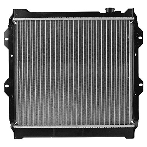 Radiator Assembly Aluminum Core Direct Fit for Toyota Pickup Truck 3.0L 4X2