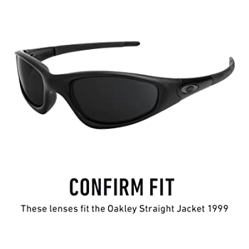 Replacement Lenses for Oakley Straight Jacket (1999)