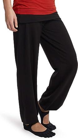 Esparto Sooraj Pantalones de yoga de algodón orgánico: Amazon.es: Deportes y aire libre