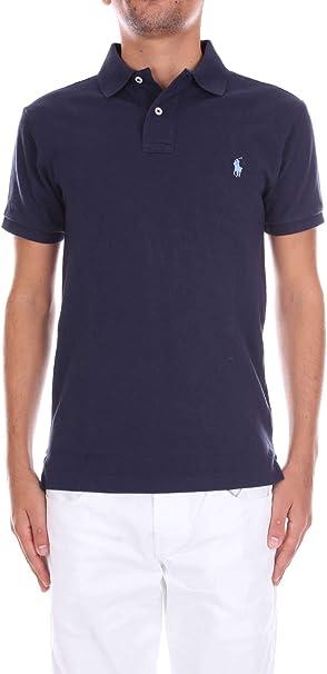 Polo Ralph Lauren Ss Slim Fit Mesh Heren Poloshirt Amazon Nl