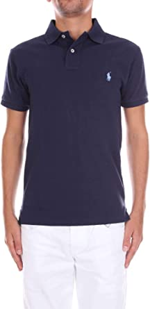 Polo Ralph Lauren SS Slim Fit Mesh Polo para Hombre: Amazon.es ...