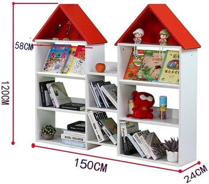 JLL Casa de muñecas en Forma de estantería - Muebles de ...