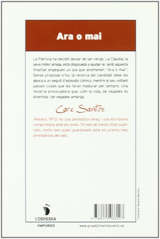 Ara O Mai L Odissea Amazon Es Santos Care Santos Care Libros