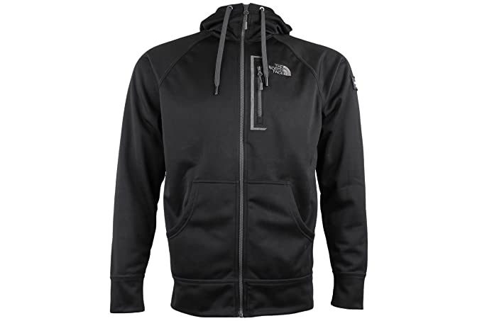 4eef2c86d Amazon.com: The North Face Men's Mack Mays Full Zip Hoodie TNF Black ...
