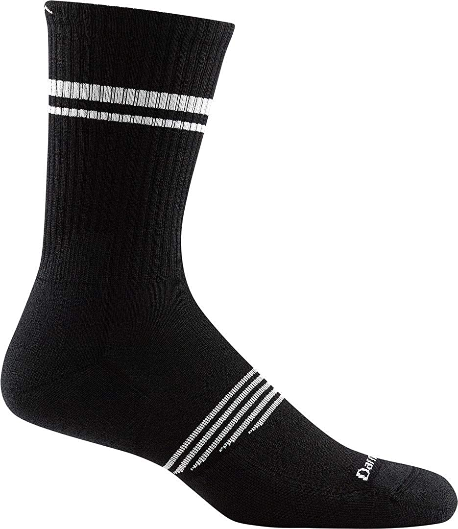 DARN TOUGH (Style 1103) Men's Element Athletic Sock - Black, Large