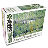 Anne of green gables Jigsaw Puzzle - 108pcs A grove of birch trees's Green Wind
