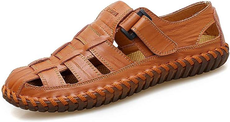 Chaussures d'extérieur en cuir véritable d'été de qualité