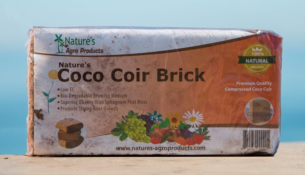 Nature's Premium Coco Coir 1-Pound Brick