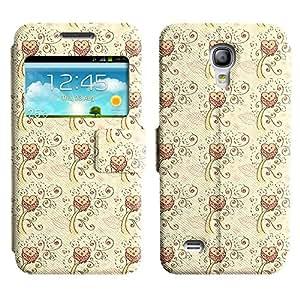 LEOCASE Búho En Un Árbol Funda Carcasa Cuero Tapa Case Para Samsung Galaxy S4 Mini I9190 No.1000297
