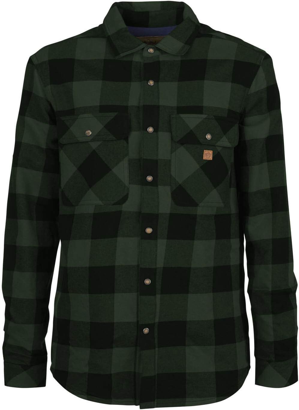 E9 Enove Ciro - Camisa de hombre a cuadros verde Check Shirts Green