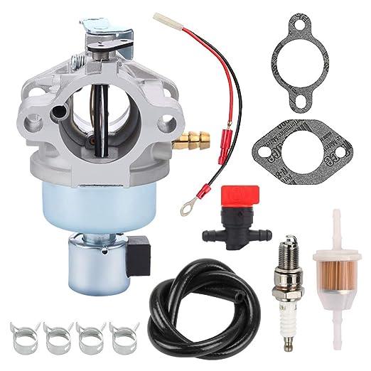 hilom cv491 carburador + filtro de combustible bujías para Kohler ...