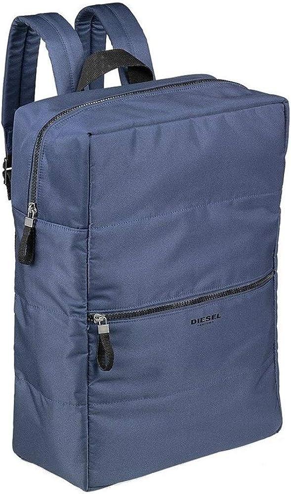 Diesel Casual Blue Backpack Bag For Gym Travel Work School
