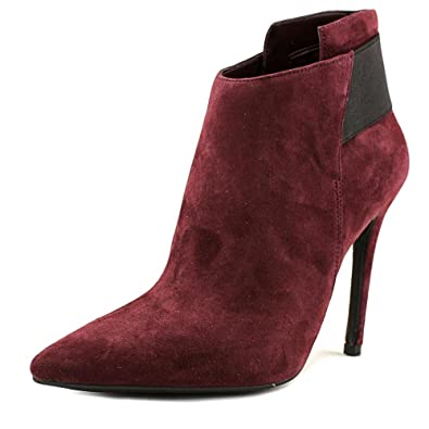 Womens Oliva Suede Pointed Toe Ankle Fashion Boots