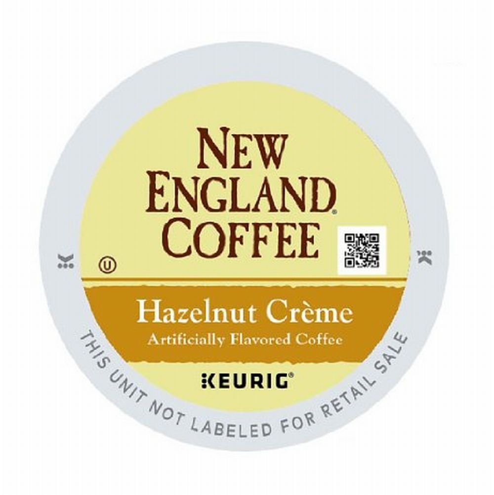 New England Coffee Hazelnut Creme 12 Count Single Serve K-cup Pods
