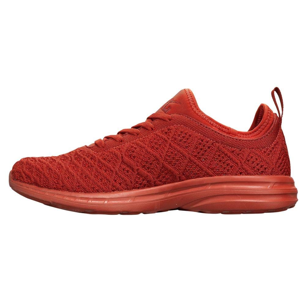 Image of APL: Athletic Propulsion Labs Men's Techloom Phantom Sneakers (10.5, Paprika) Fitness & Cross-Training