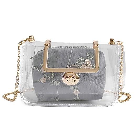 9186f0106082 Amazon.com: Leather Crossbody Bag,Rakkiss Phone Bag Shoulder Bag ...