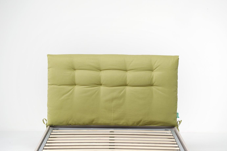 Cangù Trapunta Testata, Verde, 120 x 190 cm Noctis CGA001F004