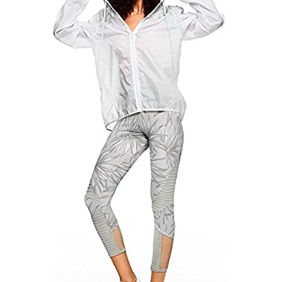 Victoria's secret Pink New Palm Leaves Ultimate Moto Ankle Legging Color Cloud (XSmall)