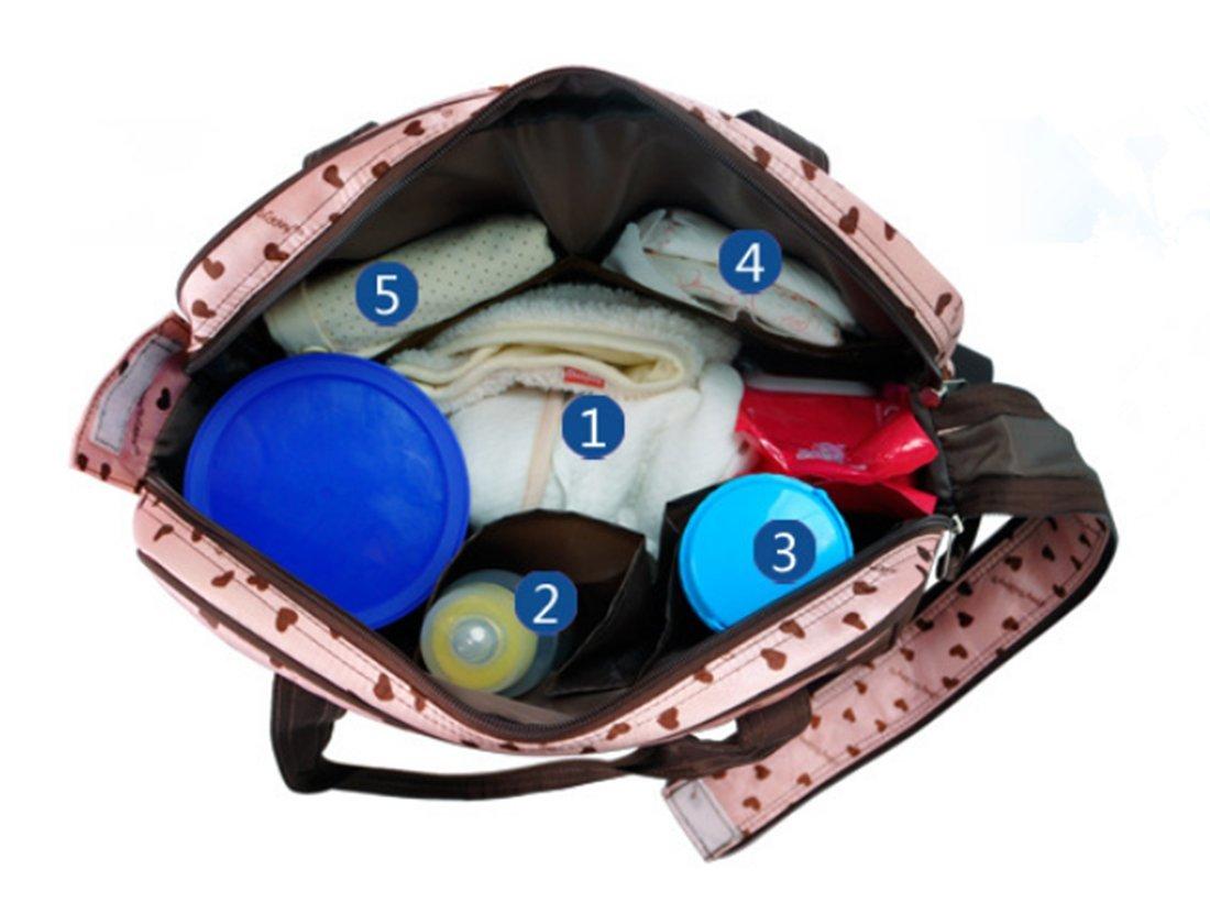 Schultertasche multifunktionale Tasche Wickeltasche // Handtasche f/ür M/ütter ideal f/ür Babysachen // Windeln