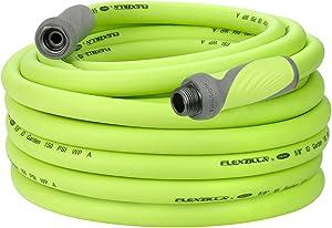 Flexzilla Garden Hose with SwivelGrip, 5/8 in. x 75 ft., Heavy Duty, Lightweight, Drinking Water Safe - HFZG575YWS