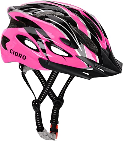GIORO BMX Casco de Ciclismo especializado para Hombres y Mujeres, protección de Seguridad, Certificado CE, Casco Ligero con Visera extraíble y Correa ...