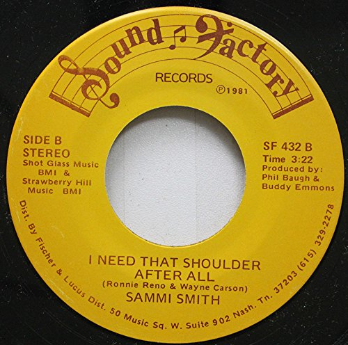 45 Hill Rpm Records (Sammi Smith with Ernest Tubb - Waltz Across Texas / Sammi Smith - I Need That Shoulder After All (7