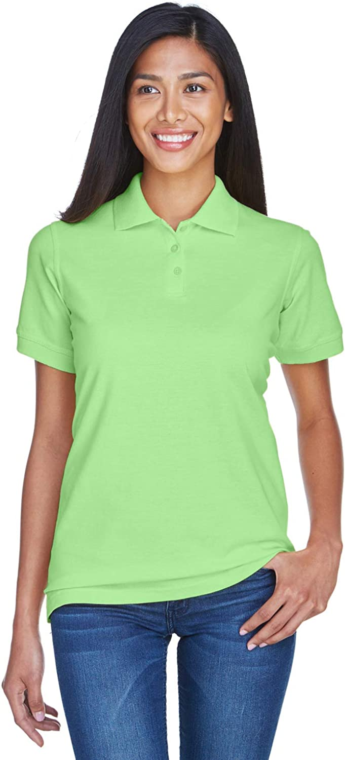 UltraClub 8530 Ladies Classic S-Sleeve Pique Polo