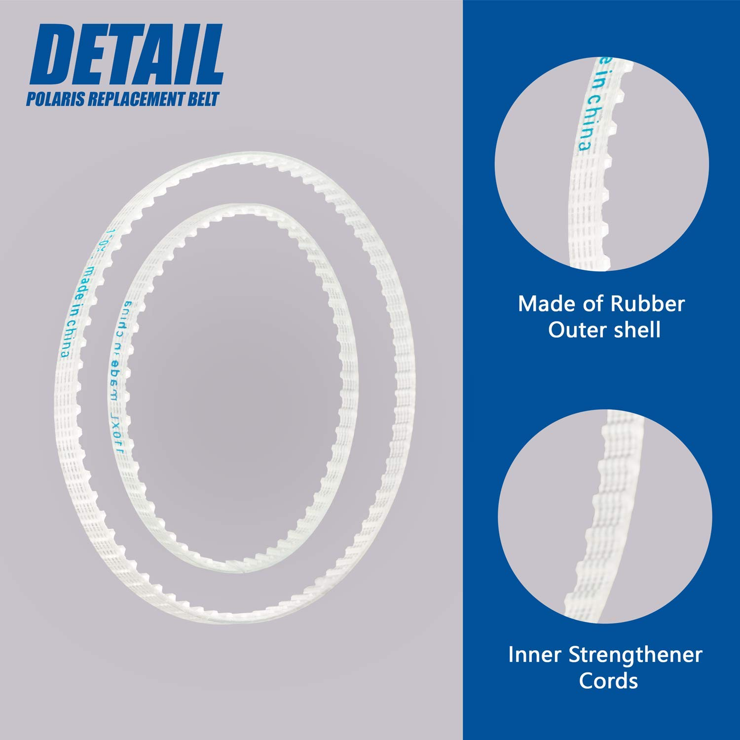 UNEEDE Belt Replacement kit for Polaris Pool Cleaner Small and Large Belt for Models 360 /& 380