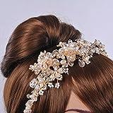 Remedios Greek Bridal Headband Wedding Headpiece Hair Band Accessory