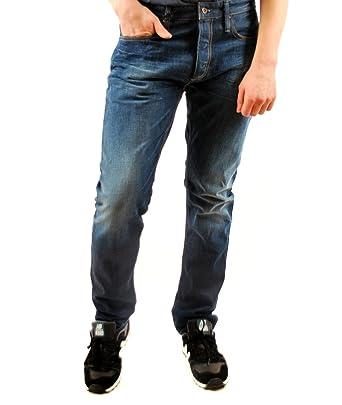 Jeans Fit Dark Blue Men's Razor co Denham Denim Slim 1y New Amazon T4ZxSq0