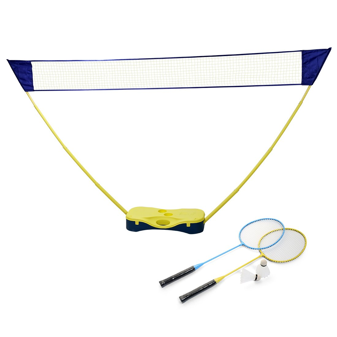 Jack's household Portable Volleyball Badminton Set with Net and Stand Perfect for Garden, Camping, Beach Jack' s household