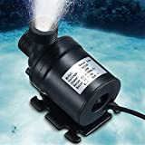 yunli DC 12-24V Hot Water Circulation Solar Water Pump Submersible Brushless Motor 5M 800 L/H