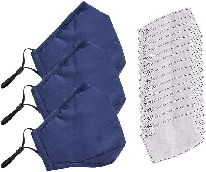 Anti-Staub- Vorverkauf Wiederverwendbar waschbar Anti-Beschlag Erwachsene m/ännliche und weibliche Schutz Unisex Mode Mundschutz