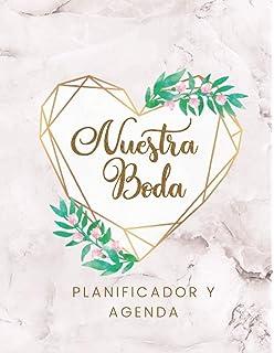 La agenda de nuestra boda: Un libro de: Bodas de cuento ...
