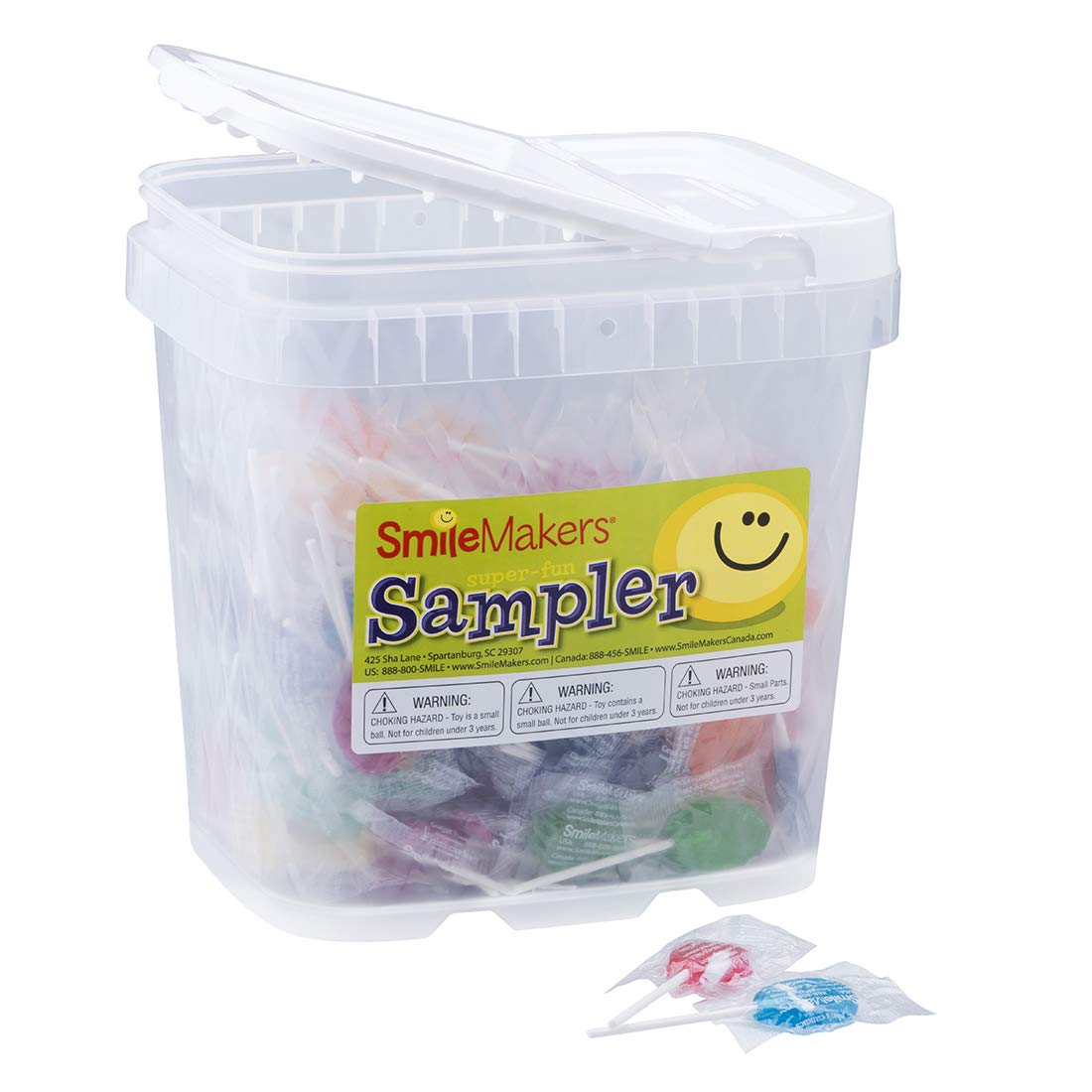 Dr. John's Sugar Free Lollipop Sampler - 300 per pack by SmileMakers