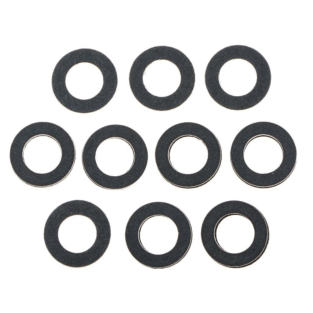 Oil Drain Plug Crush Washer Gaskets for Toyota 90430-12031 Pack of 10 Generic