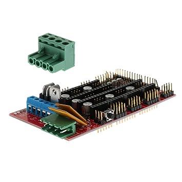Baoblaze Controlador de Impresora 3D Ramps1.4 Board RepRap para ...
