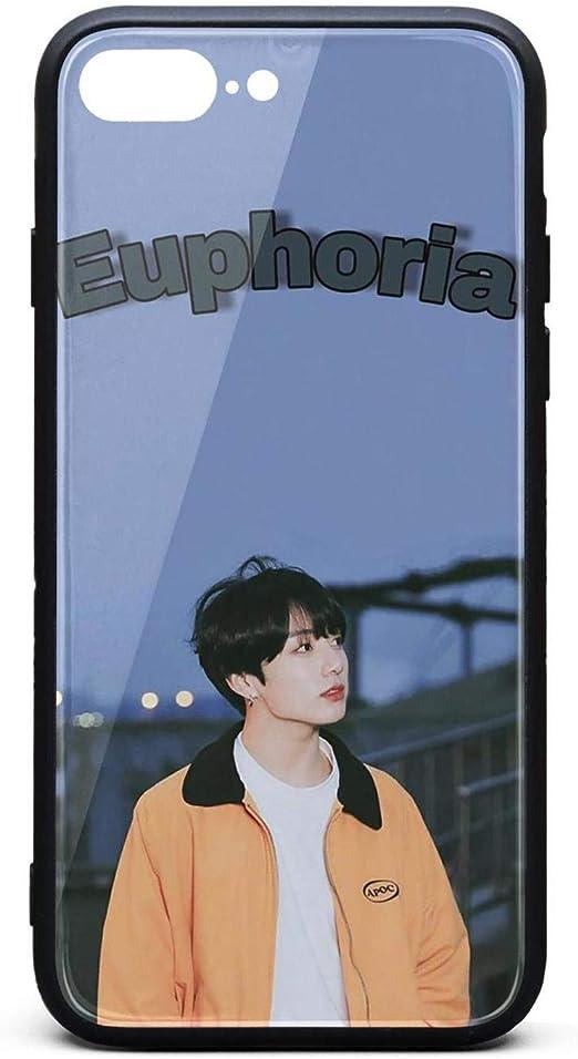 Amazon.com: BTS Jungkook Kpop iPhone 7 8 Plus Cases,Cell Slim ...