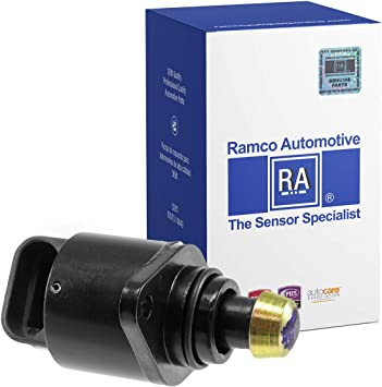 Fuel Injection Idle Air Control Valve Ramco Automotive Compatible with Wells AC142 Standard Motor Products AC147 RA-IAC1004